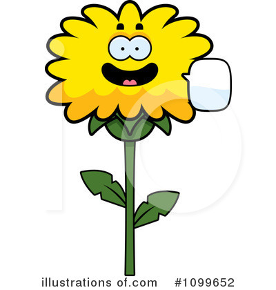Dandelion Clipart #1099652 by Cory Thoman