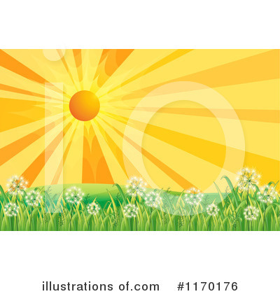 Dandelion Clipart #1170176 by Graphics RF