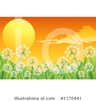 Dandelion Clipart #1175941 by Graphics RF