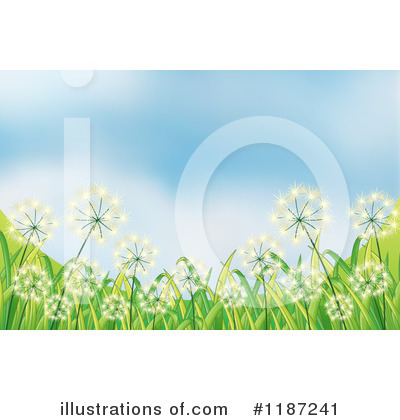 Dandelion Clipart #1187241 by Graphics RF