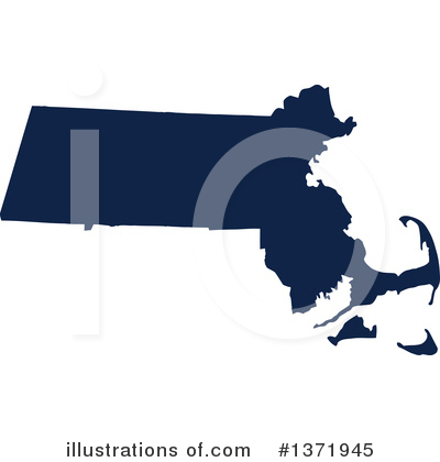 Dark Blue State Clipart #1371945 by Jamers