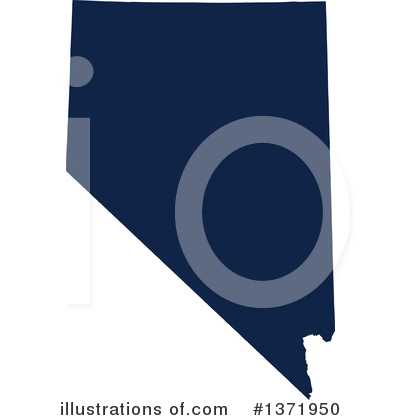 Dark Blue State Clipart #1371950 by Jamers