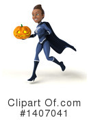Dark Blue Super Hero Clipart #1407041 by Julos