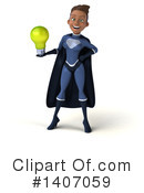 Dark Blue Super Hero Clipart #1407059 by Julos