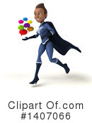 Dark Blue Super Hero Clipart #1407066 by Julos