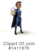 Dark Blue Super Hero Clipart #1411970 by Julos