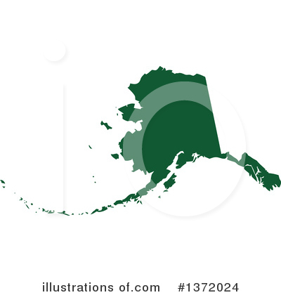 Dark Green State Clipart #1372024 by Jamers