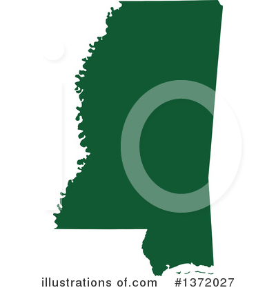 Dark Green State Clipart #1372027 by Jamers