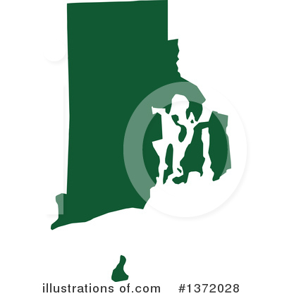 Dark Green State Clipart #1372028 by Jamers