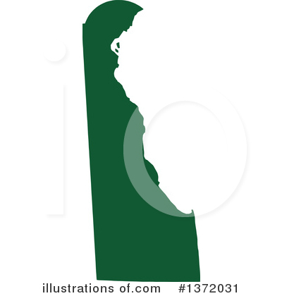 Dark Green State Clipart #1372031 by Jamers