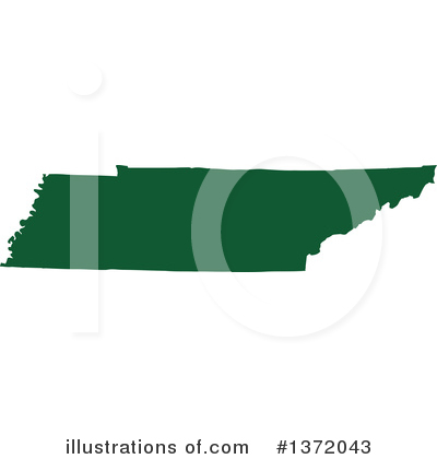 Dark Green State Clipart #1372043 by Jamers
