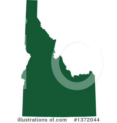 Dark Green State Clipart #1372044 by Jamers