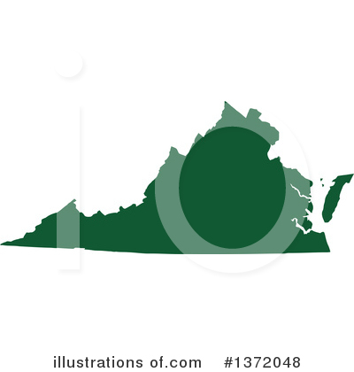 Dark Green State Clipart #1372048 by Jamers