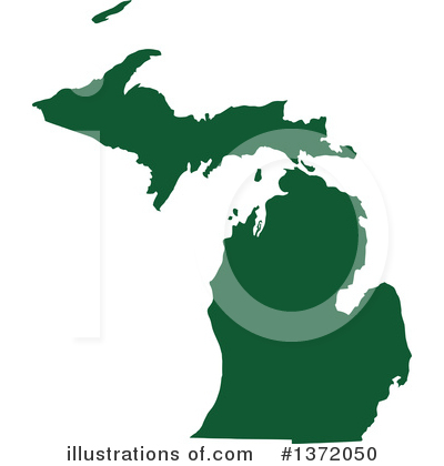 Dark Green State Clipart #1372050 by Jamers