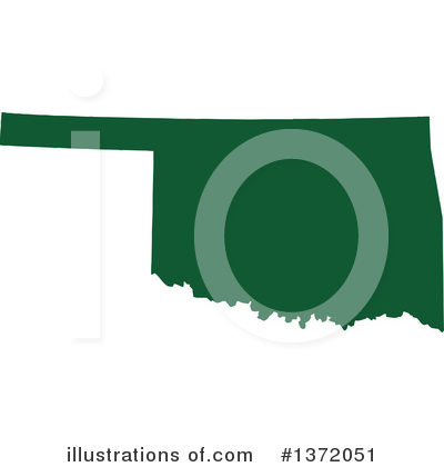 Dark Green State Clipart #1372051 by Jamers