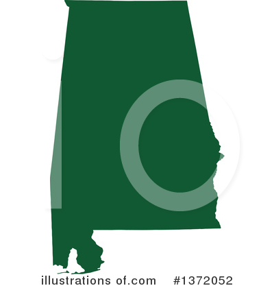 Dark Green State Clipart #1372052 by Jamers