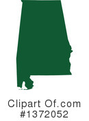 Dark Green State Clipart #1372052