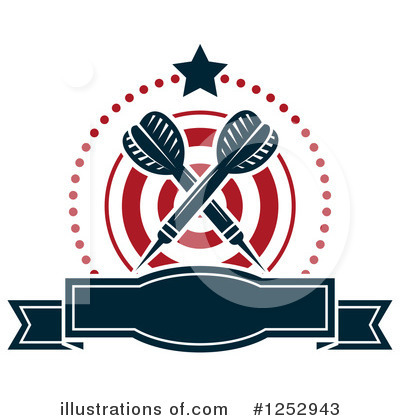 Darts Clipart #1252943 by Vector Tradition SM