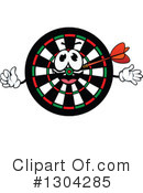 Darts Clipart #1304285 by Vector Tradition SM