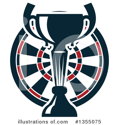 Darts Clipart #1355075 by Vector Tradition SM