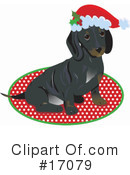 Royalty-Free (RF) Daschund Clipart Illustration #17079