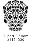 Day Of The Dead Clipart #1151220 by lineartestpilot