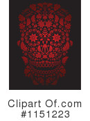 Royalty-Free (RF) Day Of The Dead Clipart Illustration #1151223