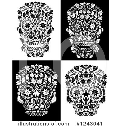 Day Of The Dead Clipart #1243041 by lineartestpilot