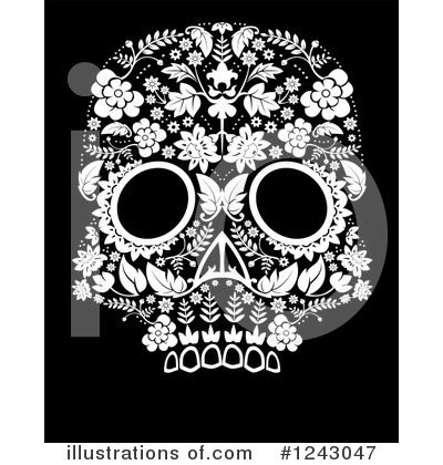 Day Of The Dead Clipart #1243047 by lineartestpilot