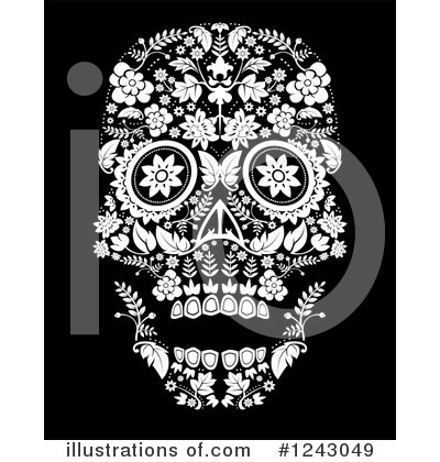 Day Of The Dead Clipart #1243049 by lineartestpilot