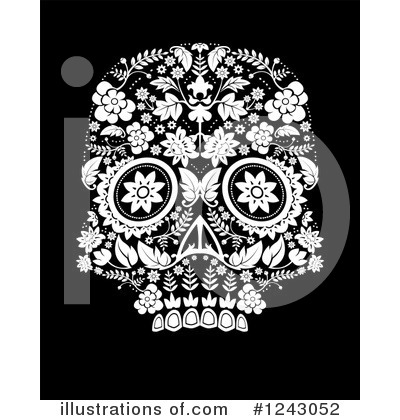 Day Of The Dead Clipart #1243052 by lineartestpilot