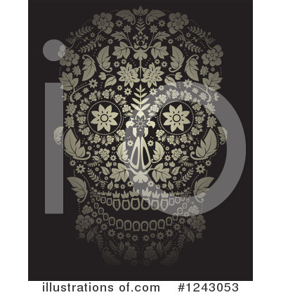 Day Of The Dead Clipart #1243053 by lineartestpilot