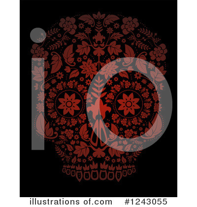 Day Of The Dead Clipart #1243055 by lineartestpilot