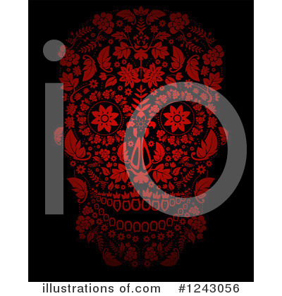 Day Of The Dead Clipart #1243056 by lineartestpilot