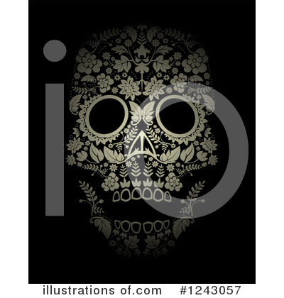 Day Of The Dead Clipart #1243057 by lineartestpilot