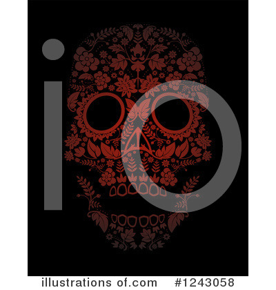Day Of The Dead Clipart #1243058 by lineartestpilot
