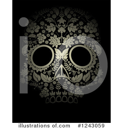 Day Of The Dead Clipart #1243059 by lineartestpilot