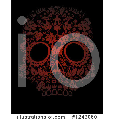 Day Of The Dead Clipart #1243060 by lineartestpilot