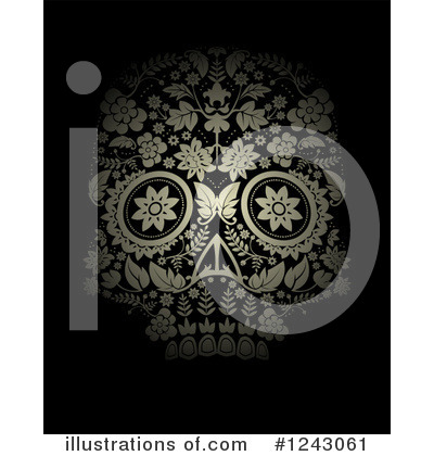 Day Of The Dead Clipart #1243061 by lineartestpilot