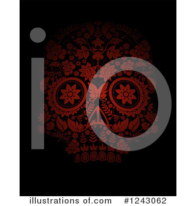Day Of The Dead Clipart #1243062 by lineartestpilot
