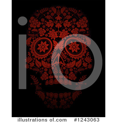 Day Of The Dead Clipart #1243063 by lineartestpilot
