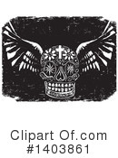 Day Of The Dead Clipart #1403861 by xunantunich