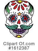 Day Of The Dead Clipart #1612387 by Cherie Reve