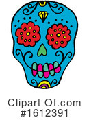 Day Of The Dead Clipart #1612391 by Cherie Reve
