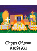 Day Of The Dead Clipart #1691931 by BNP Design Studio