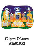 Day Of The Dead Clipart #1691932 by BNP Design Studio