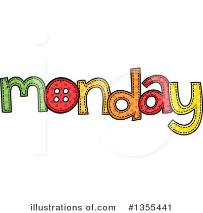 Day Of The Week Clipart #1355441 by Prawny