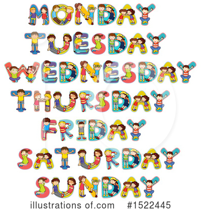 Week Clipart #1522445 by Graphics RF