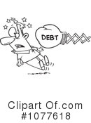 Debt Clipart #1077618 by toonaday
