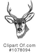 Royalty-Free (RF) Deer Clipart Illustration #1078094